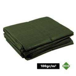 Groene afdekzeilen 100gr/m²