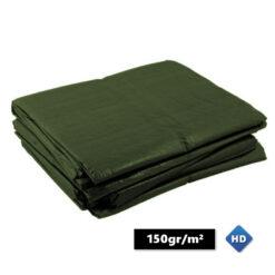 Groene afdekzeilen 150gr/m²