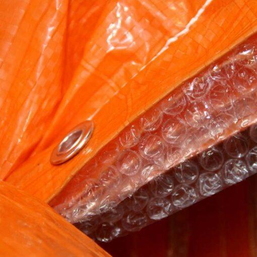 Oranje isolatie afdekzeilen 290gr/m²
