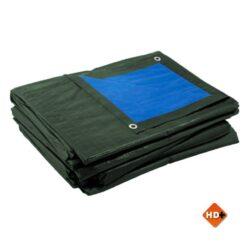 Afdekzeil bache blauw groen 180gr/m²