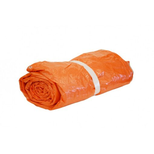 Oranje isolatie afdekzeil 290gr/m²