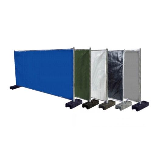 Bouwhekzeilen, bouwhekdoek, bouwhekzeil, 1.76x3.41m, kleur grijs