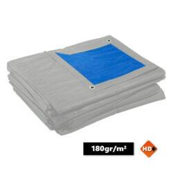 Afdekzeil blauw grijs 180gr/m² | Afdekproducten.nl