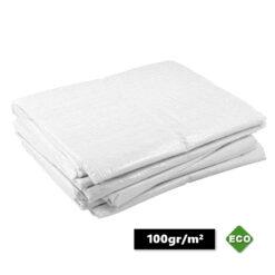Witte afdekzeilen 100gr/m²