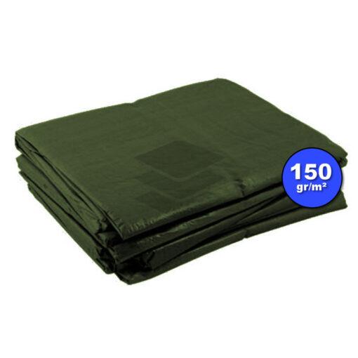 Groen afdekzeil 150gr | Afdekproducten.nl