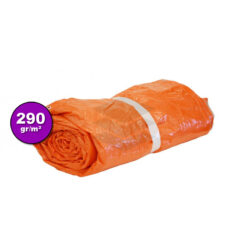Oranje isolatie afdekzeil 290gr | Afdekproducten.nl