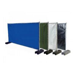 Bouwhekzeilen, bouwhekdoek, bouwhekzeil, 1.76x3.41m, kleur groen