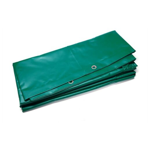 Waterdicht PVC dekzeil groen 600gr/m²