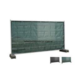 Winddoorlatend bouwhekzeilen, bouwhekdoek, bouwhekzeil, 1.76x3.41m, kleur groen, 220gr/m
