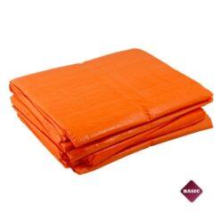 Oranje afdekzeilen 75gr/m²