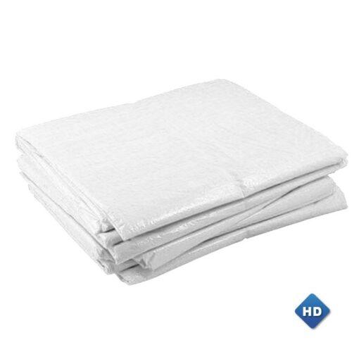 Witte afdekzeilen 150gr/m²